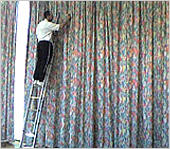 Drapery Cleaning in Manhattan